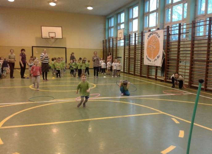 Turniej Sportowy pięciolatków - Szkoła Podstawowa nr 64 Poznań