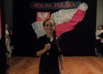 Zwyciężczyni konkursu w kategorii solistów tuż przed występem