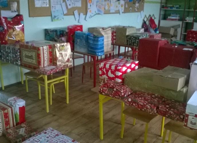 Kolorowe torby i prezenty