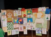 Wystawa prac plastycznych o cioci Jadzi