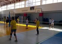 dziewczynki w czasie meczu