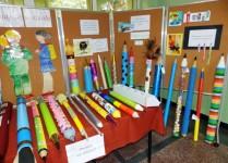 Wystawa ołówków wykonanych przez dzieci