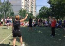 mecz siatkówki nauczycielki vs uczennice