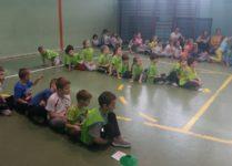 Dzieci biorące udział w zawodach