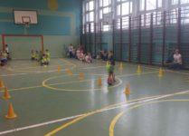 Przedszkolaki podczas zawodów