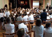 aula szkoły podczas konkursu 1z10